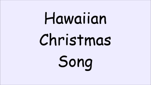 hawaiianchristmassong